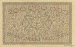 200 Millions Mark ALLEMAGNE Köln 1923  TTB+