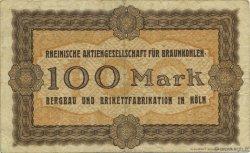 100 Mark ALLEMAGNE  1922  TTB