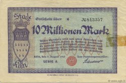 10 Millions Mark ALLEMAGNE  1923  TB