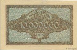 10 Millions Mark ALLEMAGNE Köln 1923  SUP