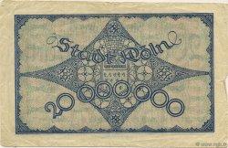 20 Millions Mark ALLEMAGNE  1923  TB+