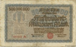 500 Millions Mark ALLEMAGNE  1923  TB+
