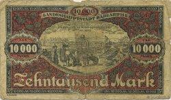 10000 Mark ALLEMAGNE Karlsruhe 1923  B