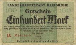 100 Mark ALLEMAGNE  1922  TB
