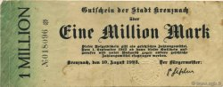 1 Million Mark ALLEMAGNE Kreuznach 1923  TTB