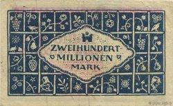 200 Millions Mark ALLEMAGNE  1923  TTB