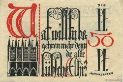 1/2 Mark ALLEMAGNE Lübeck 1921  TTB