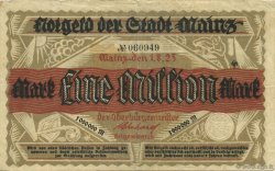 1 Million Mark DEUTSCHLAND Mainz-Mayence 1923  SS