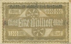 1 Million Mark ALLEMAGNE Mainz-Mayence 1923  TTB