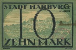 10 Mark ALLEMAGNE  1918  TTB