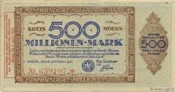 500 Millions Mark ALLEMAGNE Moers 1923  TTB
