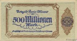 500 Millions Mark ALLEMAGNE  1923  TTB
