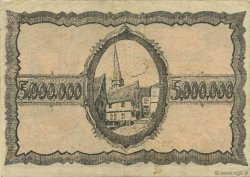 5 Millions Mark ALLEMAGNE Mülheim 1923  TTB