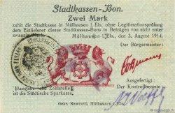 2 Mark ALLEMAGNE  1914  pr.NEUF