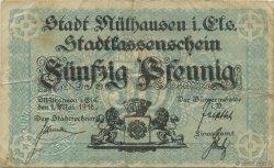 50 Pfennig ALLEMAGNE  1918  TB