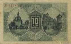 10 Mark ALLEMAGNE Mulhouse 1918  TTB