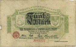 5 Mark ALLEMAGNE  1918  TB