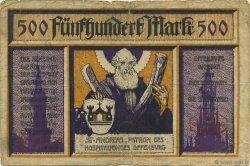 500 Mark ALLEMAGNE Offenburg 1922  B+