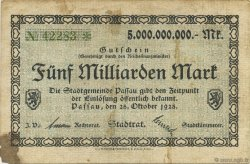 5 Milliards Mark ALLEMAGNE  1923  pr.TTB