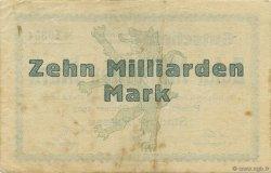 10 Milliards Mark ALLEMAGNE  1923  TB+