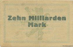 10 Milliards Mark ALLEMAGNE Passau 1923  TTB+