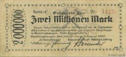 2 Millions Mark ALLEMAGNE  1923  TTB