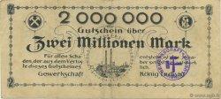 2 Millions Mark ALLEMAGNE Recklinghausen 1923  TTB