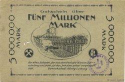 5 Millions Mark ALLEMAGNE Recklinghausen 1923  TTB