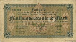 500000 Mark ALLEMAGNE Recklinghausen 1923  TB+