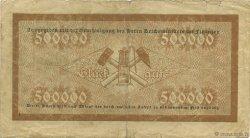 500000 Mark ALLEMAGNE  1923  TB+