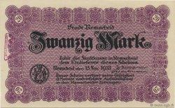 20 Mark ALLEMAGNE  1918  pr.NEUF