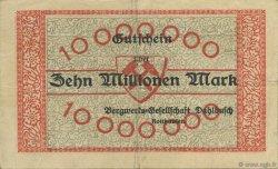 10 Millions Mark ALLEMAGNE Rotthausen 1923  TTB
