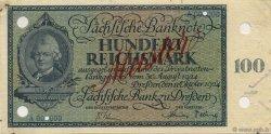 100 Reichsmark ALLEMAGNE Dresden 1924 P.- TTB+