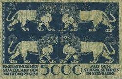 5000 Mark ALLEMAGNE  1922  TB+