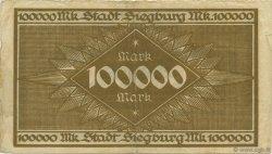 100000 Mark ALLEMAGNE  1923  TB+