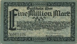 1 Million Mark ALLEMAGNE  1923  TTB