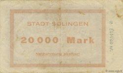 20000 Mark ALLEMAGNE Solingen 1923  TTB
