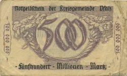 500 Millions Mark ALLEMAGNE  1923  TB à TTB