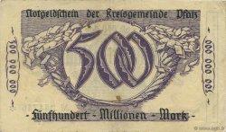 500 Millions Mark ALLEMAGNE Speyer 1923  TTB