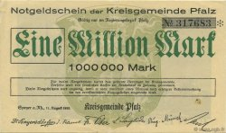 1 Million Mark ALLEMAGNE Speyer 1923  SUP+