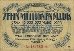 10 Millions Mark ALLEMAGNE  1923  TB+