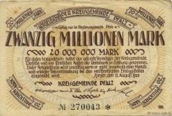 20 Millions Mark ALLEMAGNE  1923  TTB