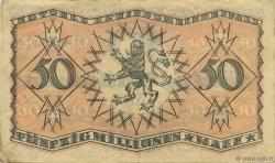 50 Millions Mark ALLEMAGNE Speyer 1923  TTB