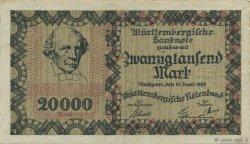 20000 Mark ALLEMAGNE  1923  SUP