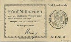 5 Milliards Mark ALLEMAGNE  1923  TB à TTB