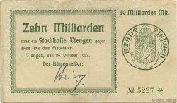 10 Milliards Mark ALLEMAGNE  1923  TTB