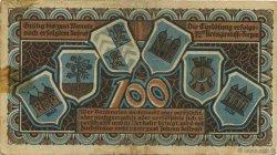 100 Mark ALLEMAGNE Torgau 1922  TTB