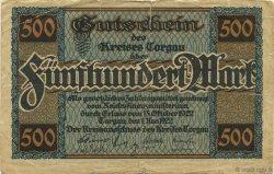 500 Mark ALLEMAGNE Torgau 1922  TTB