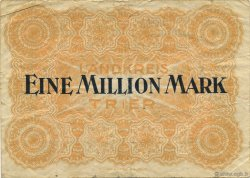 1 Million Mark ALLEMAGNE Trier - Trèves 1923  pr.TTB