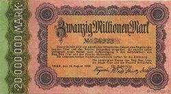 20 Millions Mark ALLEMAGNE Trier - Trèves 1923  TTB+
